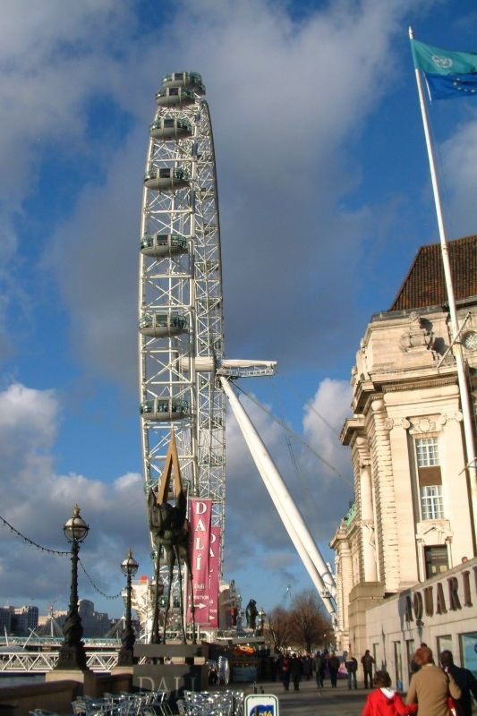 London Eye - Click to go back