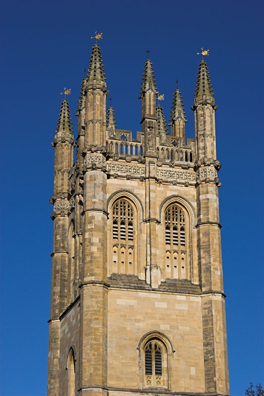 Magdalen Tower - Click to go back