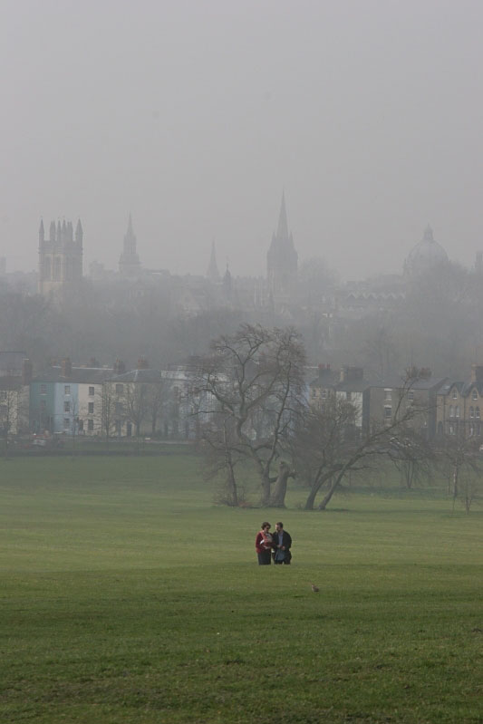 Walking from Oxford - Click to go back