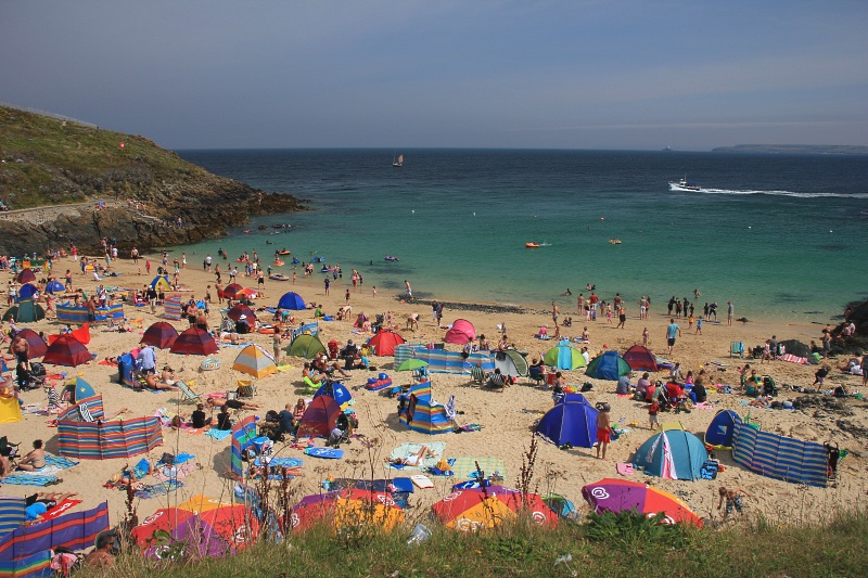 St Ives Beach - Click to go back